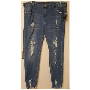 3x - Forever 21/American Bazi - Skinny Low Rise